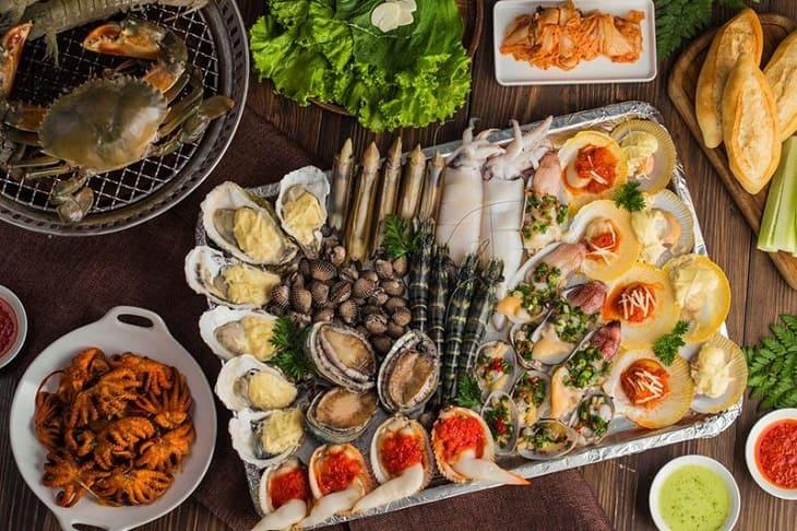 Viêm da cơ địa kiêng gì - Tránh ăn đồ hải sản