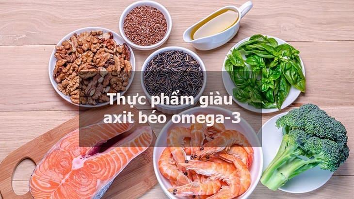 Viêm da cơ địa nên ăn các loại thực phẩm có chứa axit béo không no