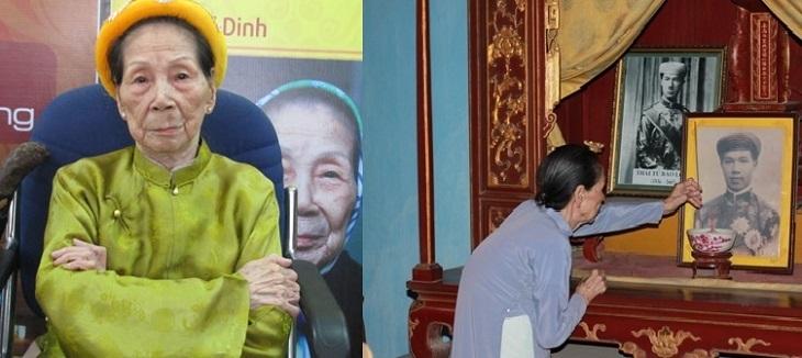Mệ Dinh - vị cung nữa cuối cùng của triều Nguyễn