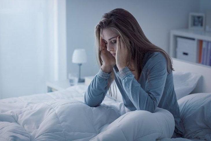 Hiện tượng đau đầu do thiếu máu ở những tháng giữa dễ khiến mẹ trằn trọc