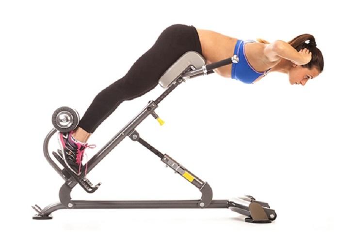 Bài tập Hyperextension - bài tập yoga chữa thoái hóa cột sống