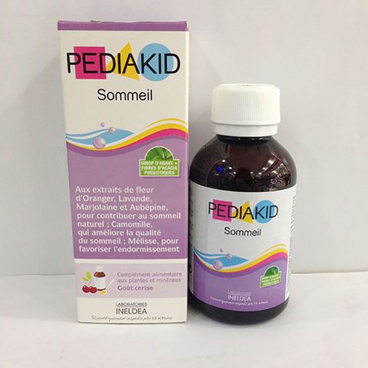 Uống Pediakid giúp loại bỏ tình trạng quấy khóc, mất ngủ của bé