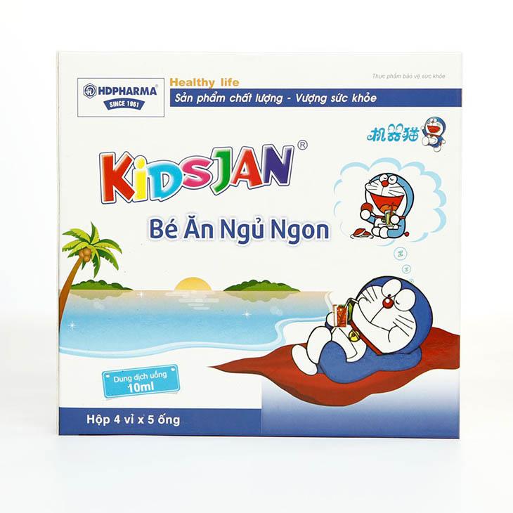 Kidsjan giúp bé có giấc ngủ ngon và sâu hơn