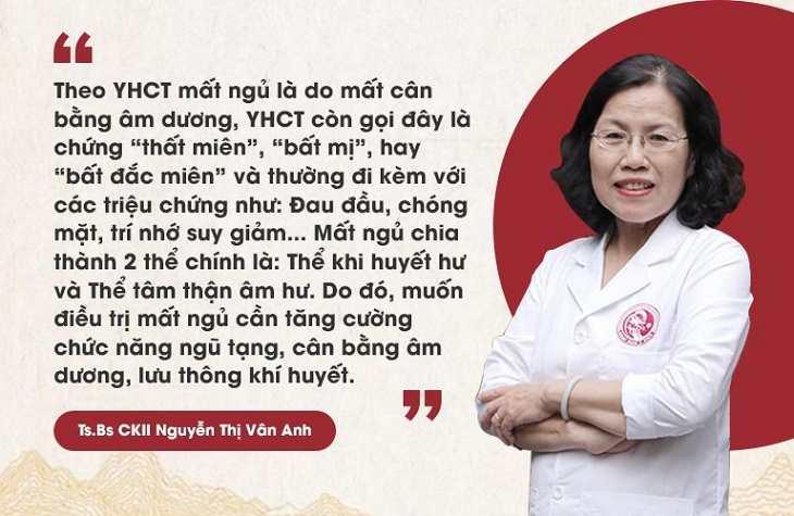 Bác sĩ Nguyễn Thị Vân Anh nói về chứng bệnh mất ngủ và giải pháp điều trị tốt nhất theo YHCT