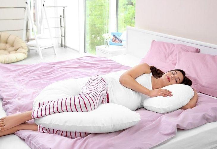 Loại gối ngủ chuyên dụng cho bà bầu