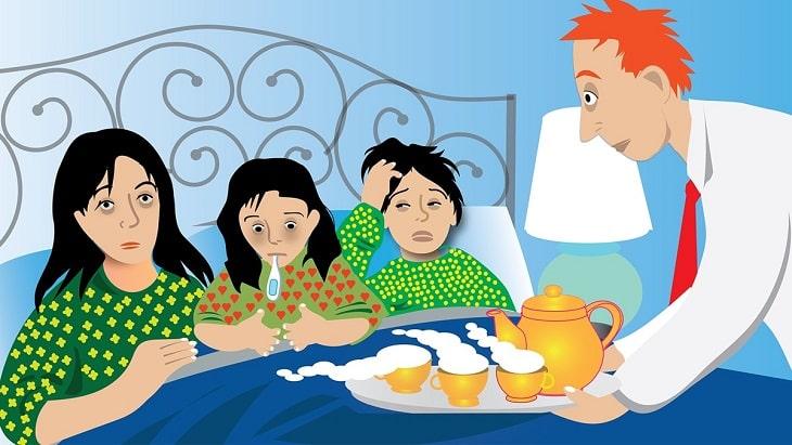 Người bị ngộ độc thực phẩm cần được sơ cứu kịp thời để tránh gây các biến chứng nguy hiểm