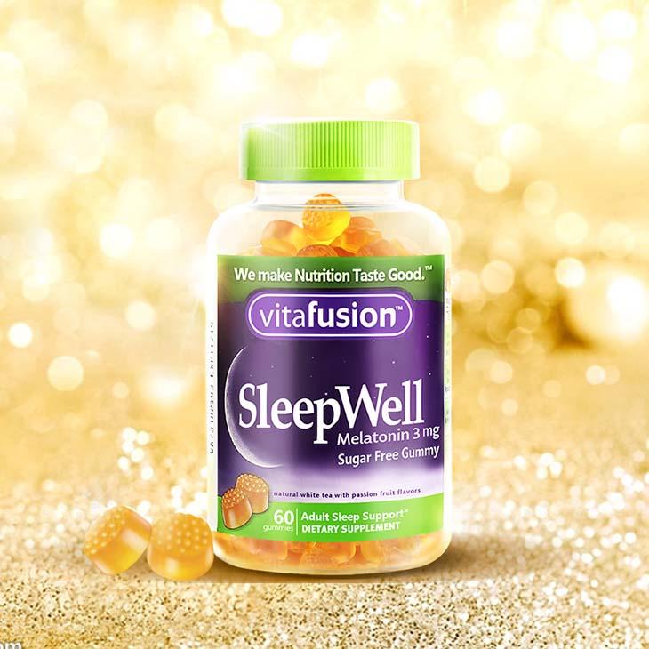 Người già mất ngủ nên uống gì, câu trả lời chính là Vitafusion SleepWell