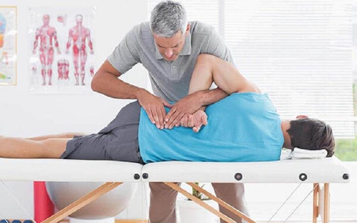 Massage là hình thức vật lý trị liệu bị động cho người bệnh
