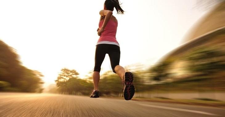 Người bệnh không nên chạy quá sức và cần chạy đúng tư thế