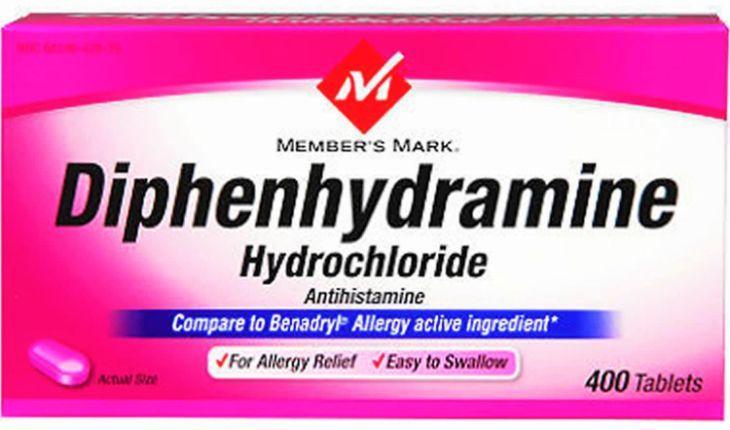 Diphenhydramine là thuốc dùng trong trường hợp mất ngủ do dị ứng
