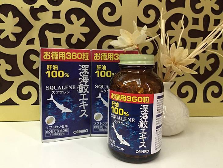 Orihiro Squalene cá mập - hàng chính hãng Nhật Bản