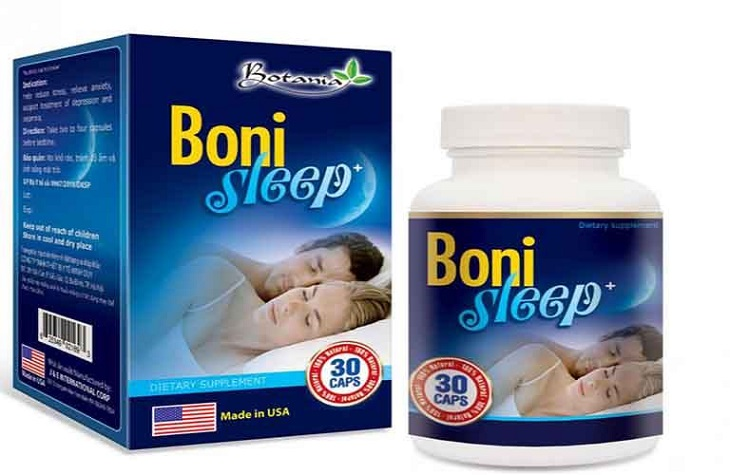 Tùy mức độ khó ngủ mà điều chỉnh liều lượng viên uống Bonisleep