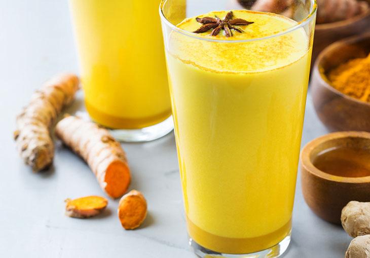 Sữa nghệ tốt cho dạ dày bị bệnh