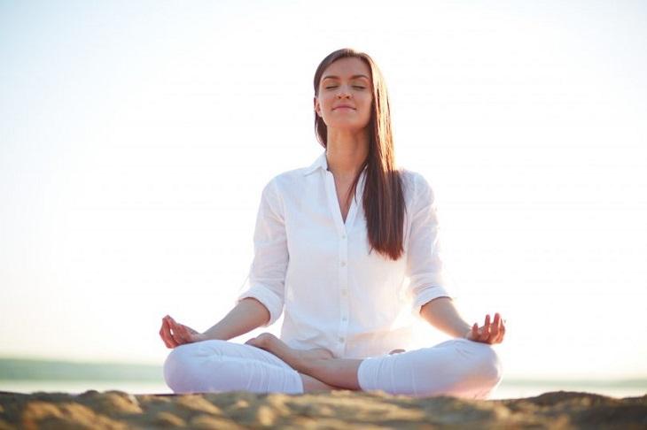 Thiền giúp tâm thư thái, thoải mái