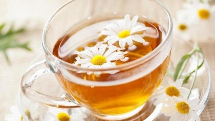Trà hoa cúc có tác dụng rất tốt