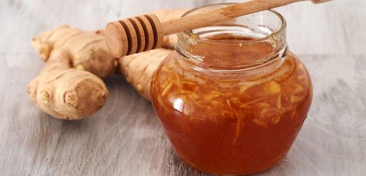 Ly trà gừng mật ong giúp tinh thần thư thái