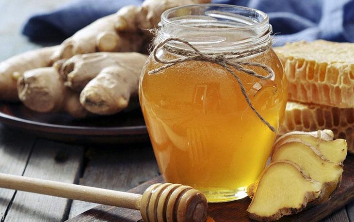 Chữa viêm loét dạ dày bằng mật ong và gừng