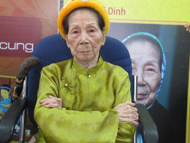 Cụ Lê Thị Dinh - cung nữ cuối cùng của triều đại nhà Nguyễn