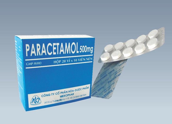 Nếu cơn đau đầu vượt quá sức chịu đựng thì bạn nên uống Paracetamol để giảm đau