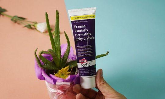 Hope's Relief giúp cấp ẩm cho da, cải thiện bệnh ngoài da hiệu quả