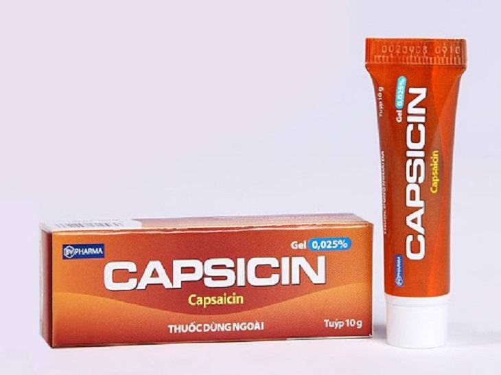 Thuốc bôi da Capsaicin được sử dụng nhiều hiện nay