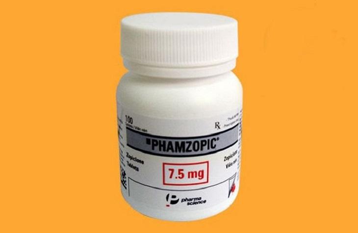 Thuốc Tây trị mất ngủ Phamzopic 7.5mg