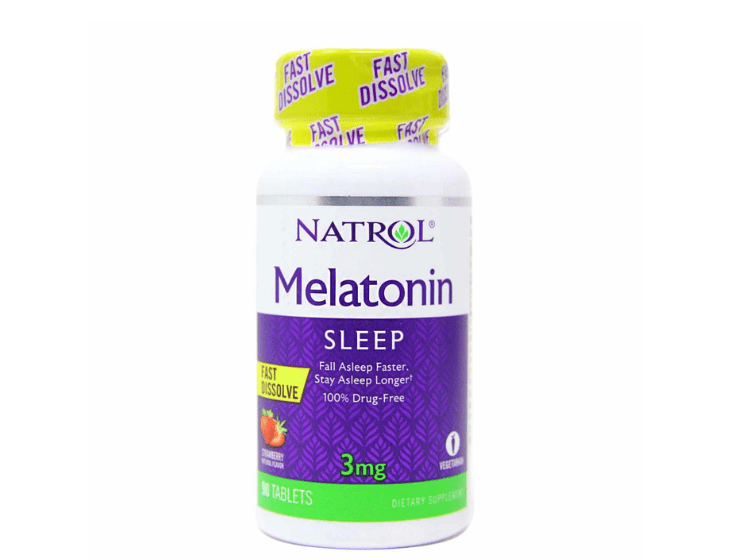Viên uống Natrol Melatonin Sleep