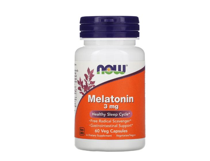 Satn phẩm chữa mất ngủ của Mỹ NOW Melatonin 3mg