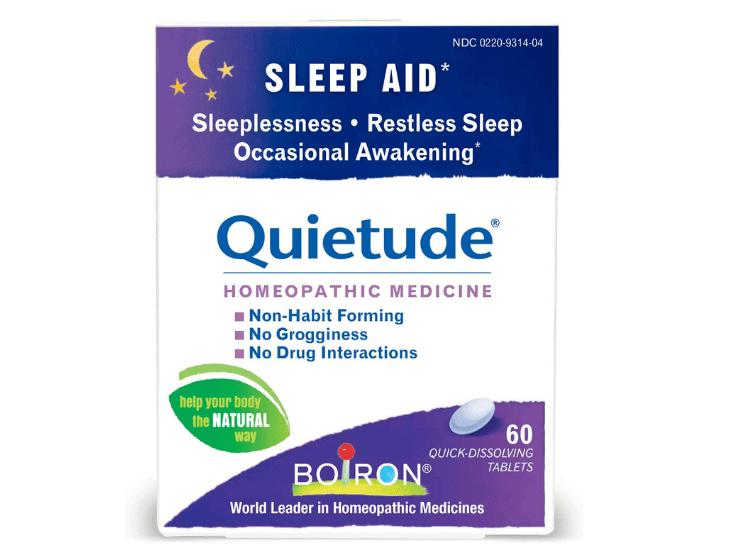 Boiron Quietude – Thuốc trị mất ngủ của Mỹ không gây nghiện