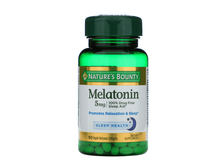 Nature's Bounty Melatonin 5mg