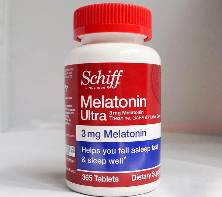 Schiff Melatonin Ultra - Viên uống trị mất ngủ của Mỹ