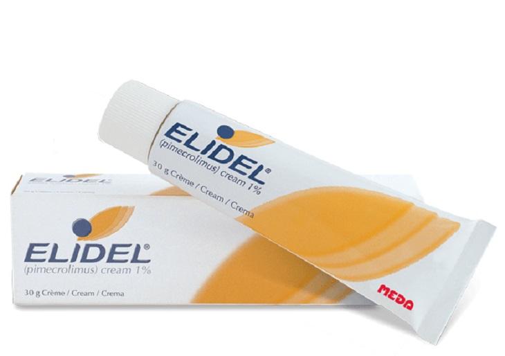 Elidel giúp ức chế hoạt động của hệ miễn dịch, từ đó làm giảm triệu chứng của bệnh