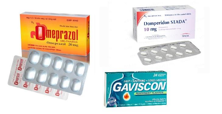 Một số loại thuốc tây phổ biến cho người bị trào ngược dạ dày