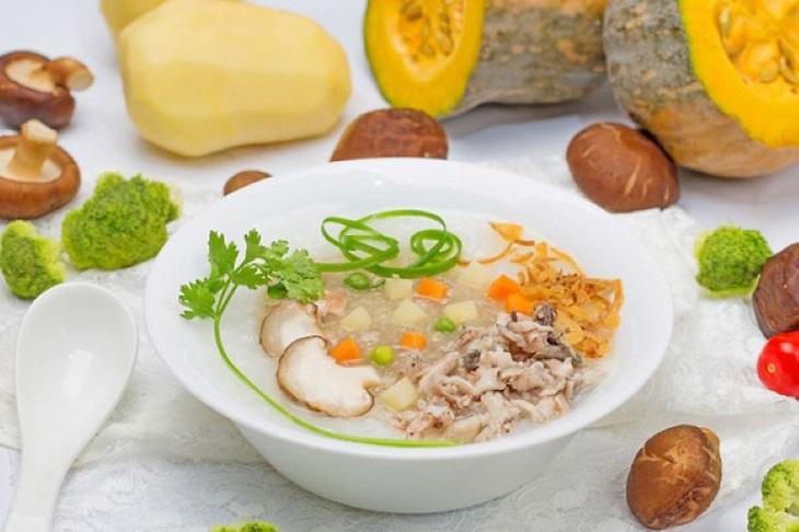 Các món mềm lỏng, giàu dinh dưỡng sẽ giúp người bệnh dạ dày nhanh hồi phục