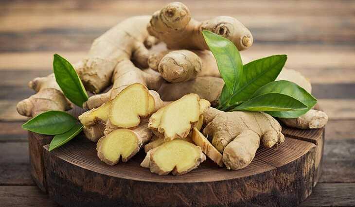 Bổ sung gừng vào các món ăn để cải thiện tình trạng viêm dạ dày