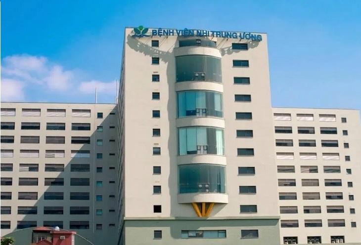 Bệnh viện nhi trung ương là lựa chọn thăm khám hàng đầu của các bậc phụ huynh có con em bị bệnh