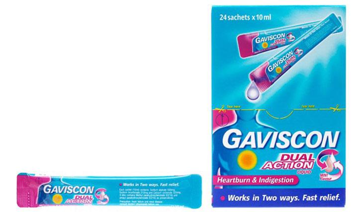 Gaviscon được bào chế dưới hai hình thức chính là hỗn dịch uống và dạng viên uống