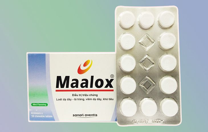 Maalox làm dịu các triệu chứng của viêm tá tràng và viêm thực quản