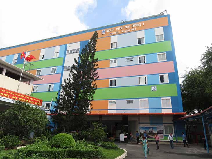 Bệnh viện Nhi Đồng 1 nổi tiếng ở Sài Gòn
