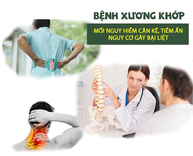 Bệnh xương khớp tiềm ẩn nhiều nguy cơ biến chứng nếu không điều trị sớm