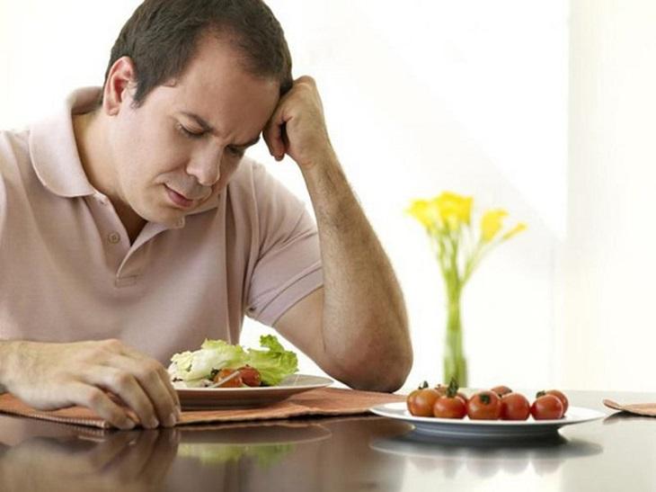 Chứng chán ăn mất ngủ ảnh hưởng khá nhiều đén giấc ngủ