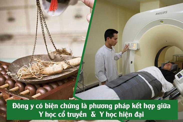 Phương pháp Đông y có biện chứng kết hợp Đông - Tây y