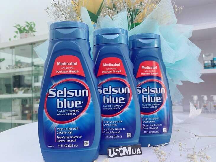 Dầu gội Selsun Blue hỗ trợ cải thiện triệu chứng vảy nến da đầu