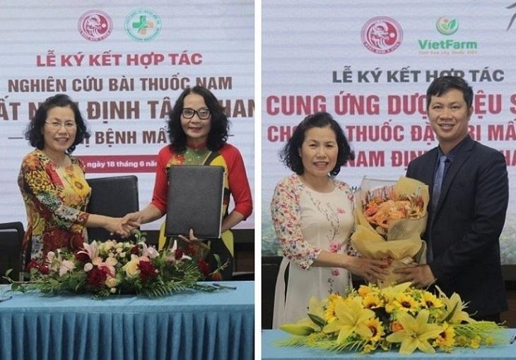 Kí kết hợp tác đảm bảo chất lượng và hiệu quả của bài thuốc Nhất Nam Định Tâm Khang