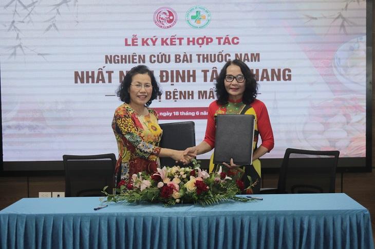 Buổi lễ kí kết hợp tác nghiên cứu Nhất Nam Định Tâm Khang đã diễn ra thành công tốt đẹp