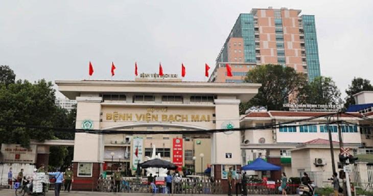 Bệnh viện Bạch Mai là địa chỉ trung ương lớn nhất cả nước