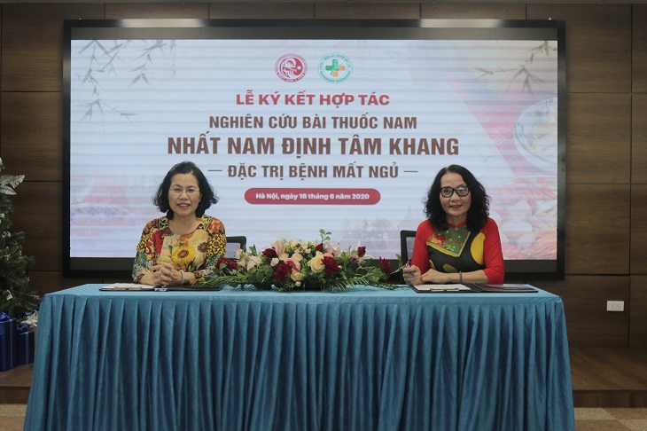 Lễ kí kết hợp tác nghiên cứu Nhất Nam Định Tâm Khang