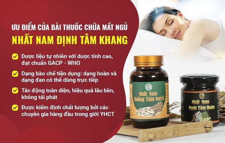 Nhất Nam định tâm khang là bài thuốc bí truyền từ Thái Y Viện triều Nguyễn
