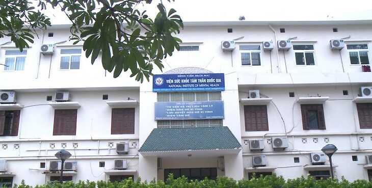 Viện sức khỏe Tâm thần trực thuộc Bệnh viện Bạch Mai là địa chỉ khám uy tín tại miền bắc