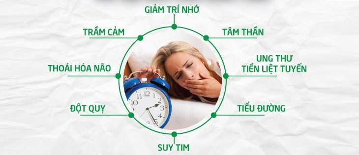 Một số hệ lụy nguy hiểm của chứng mất ngủ giai đoạn trung niên